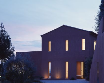 Patricia Miyamoto Architecture, Architectural Design, Interior Architecture, Interior Design, Residence Red House Provence France, photo by Dennis Gilbert