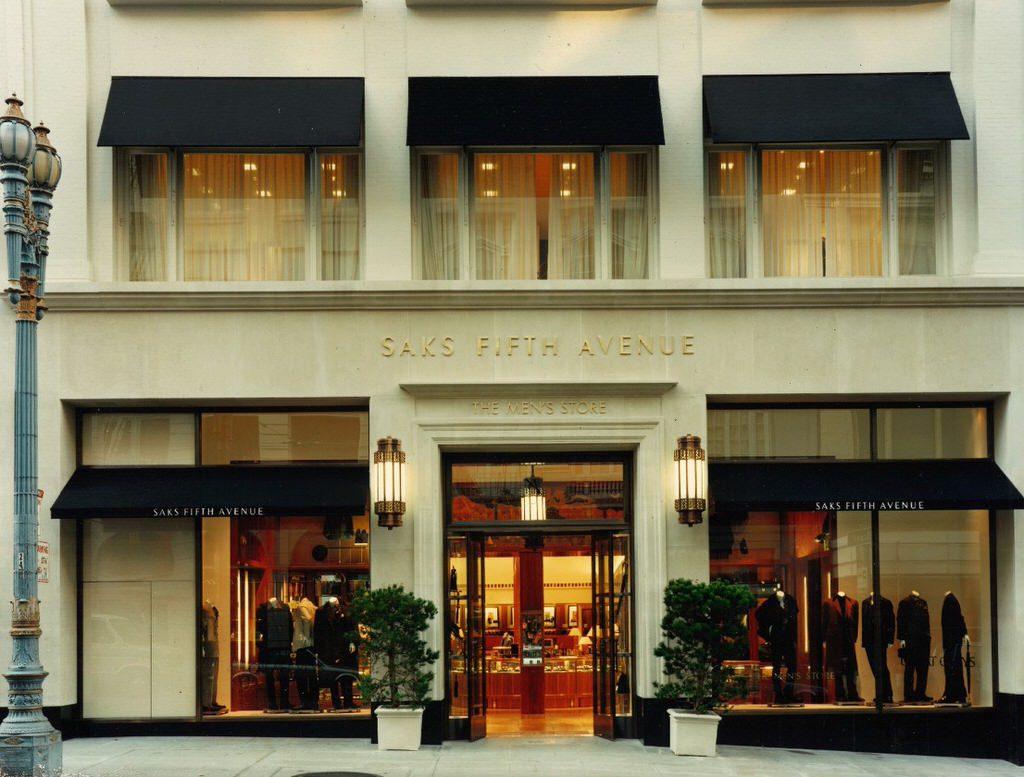 Patricia Miyamoto architect architecture interior design Rosenbaum Saks Fifth Avenue Men's Store San Francisco