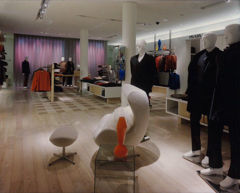 Patricia Miyamoto architect architecture interior design Rosenbaum Saks Fifth Avenue Men's Store San Francisco