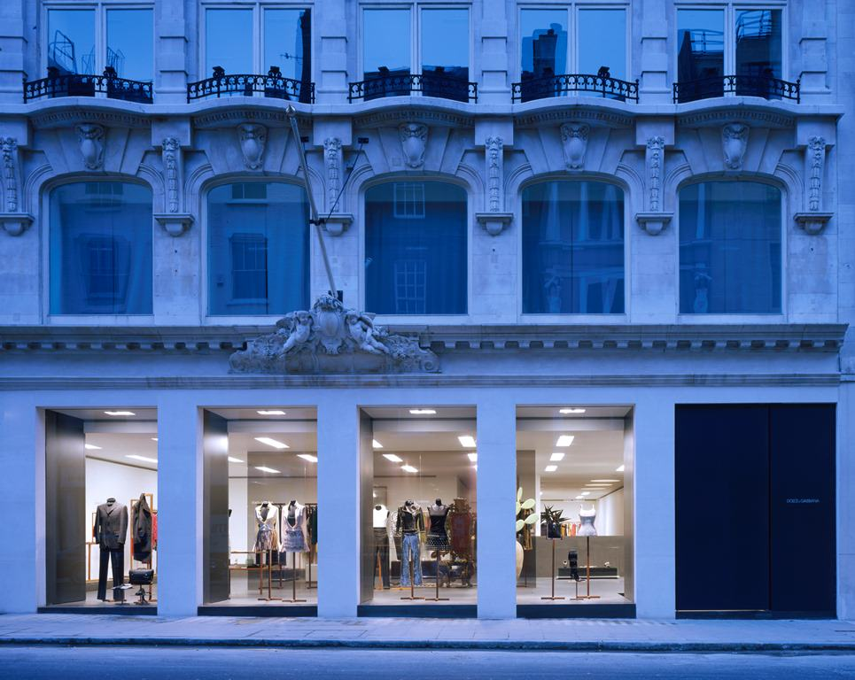 Patricia Miyamoto for David Chipperfield Dolce Gabbana Bond Street London