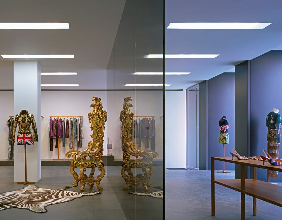 Patricia Miyamoto architect architecture interior design for David Chipperfield Dolce Gabbana Bond Street London